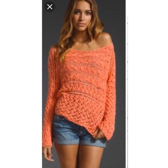 Free People Sweaters - Free people open knit marigold sweater
